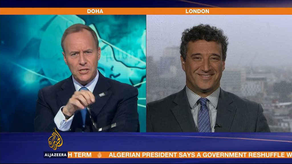Can the internet ever be policed? Yair Cohen interview with Al Jazeera