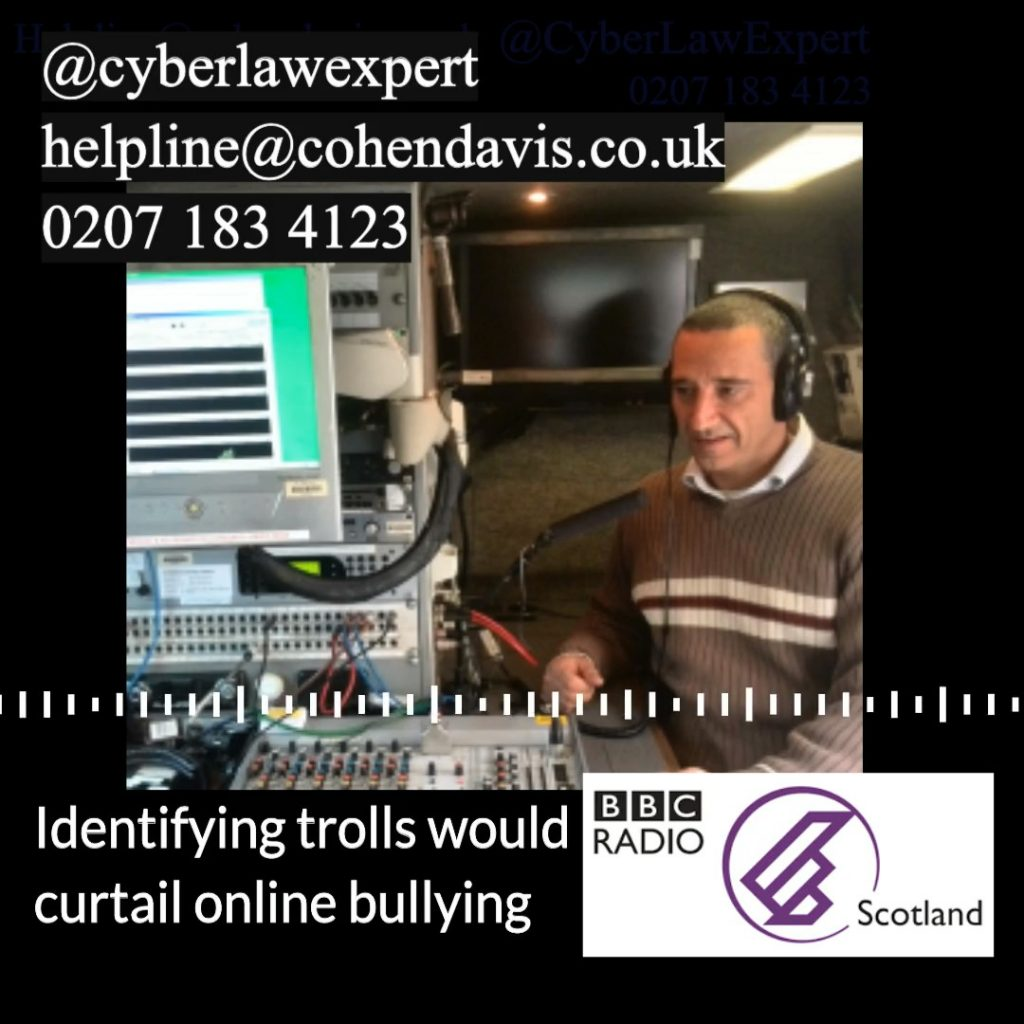 Identifying online trolls could be a simple process