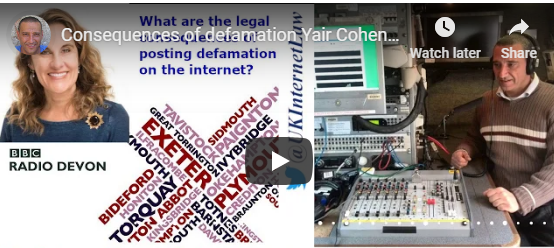 What are the Legal Consequence of Posting Defamation on the Internet
